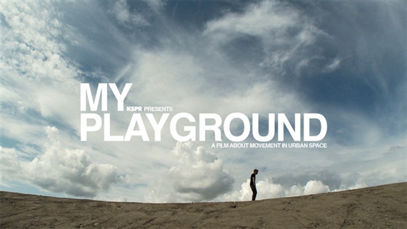 The world is my playground parkour